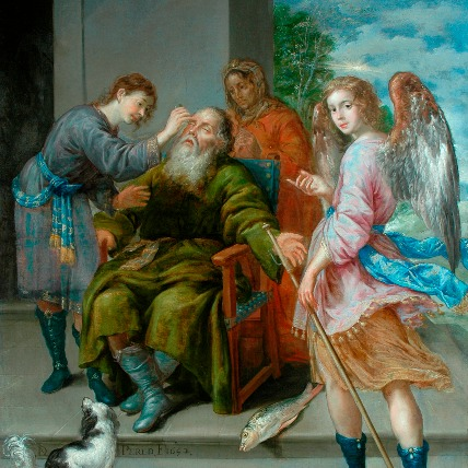 Tobias Restoring his Father's Sight 1652)