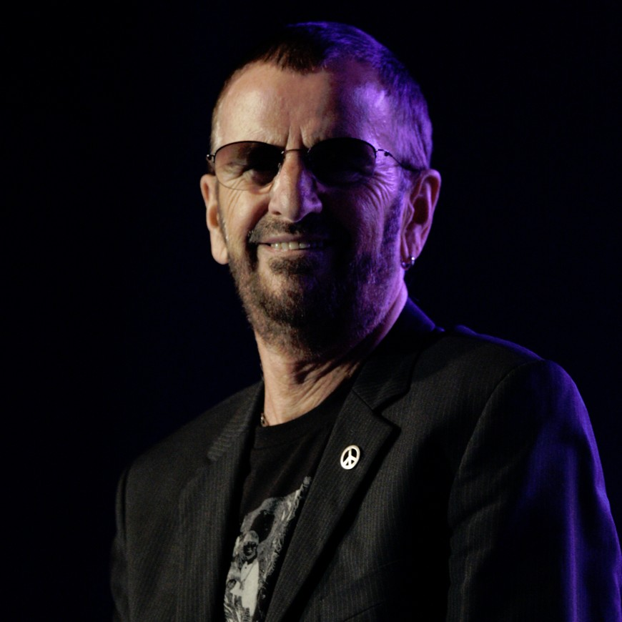 Ringo Starr In Marylebone