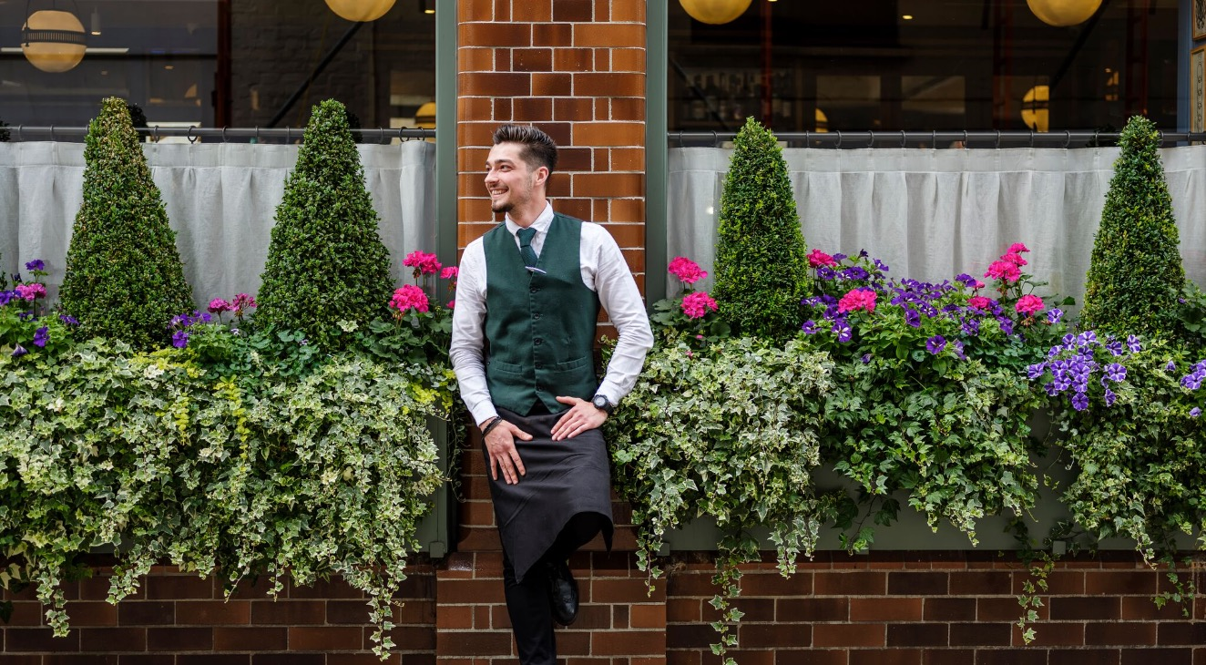 Alex from The Ivy Marylebone